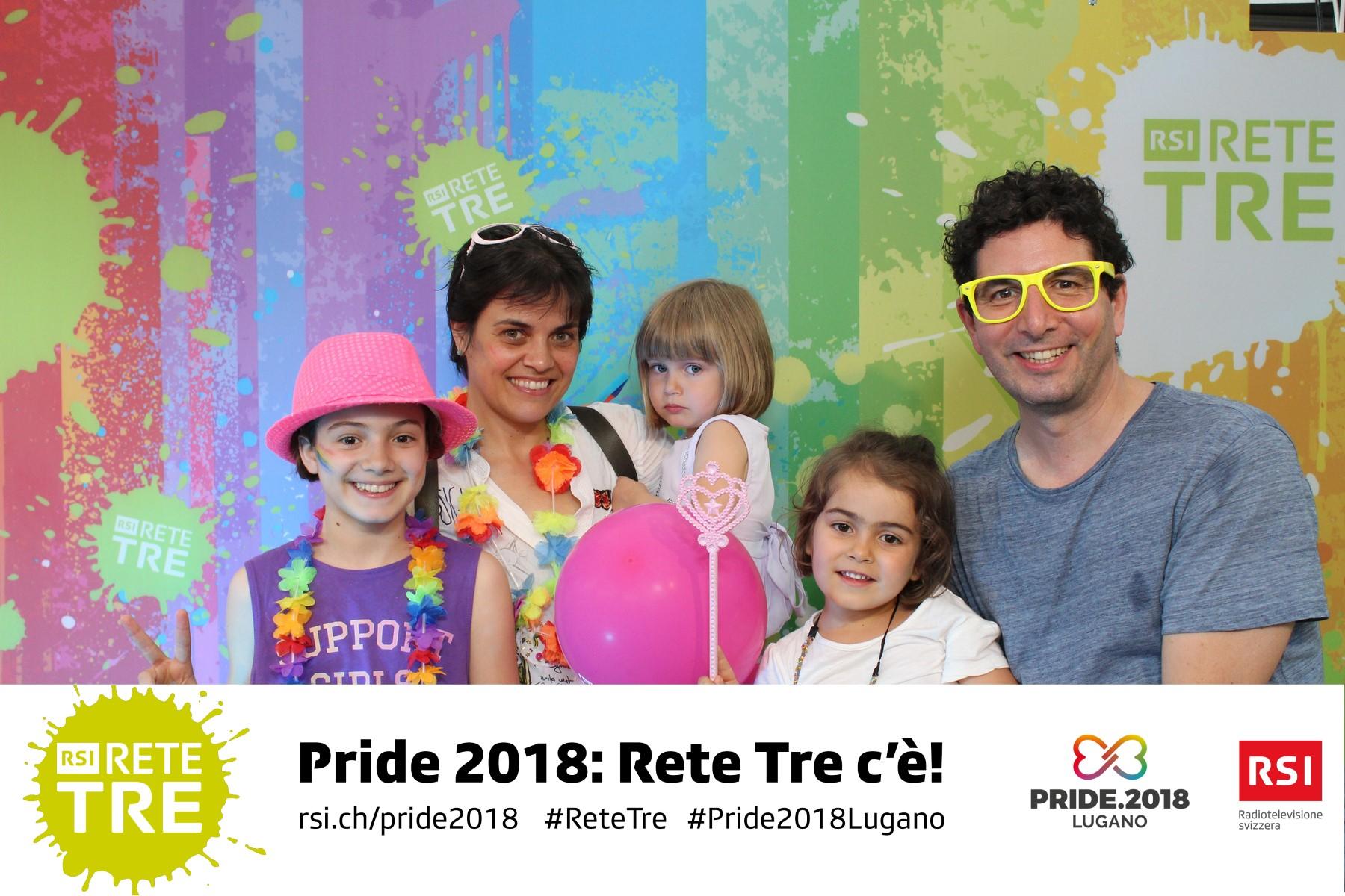 Rivedi tutte le foto scattate da Rete Tre al Pride 2018 su rsi.ch/retetre #RSIReteTre #Pride2018Lugano. Foto: